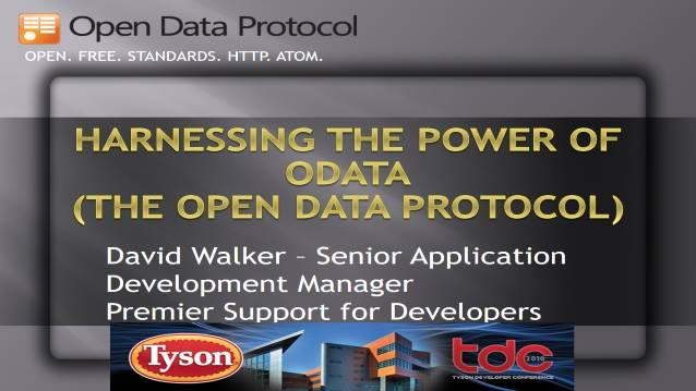 Harnessing the Power of ODATA (The Open Data Protocol)
