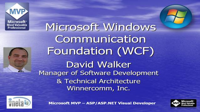 Microsoft Windows Communication Foundation - Houston TechFest 2007 - 08/25/2007
