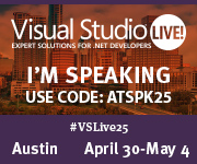 Hard-Core Integration Intoxication with .NET Core - VSLive Austin 2018 - 05/03/2018